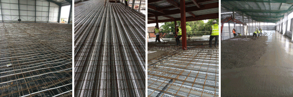 Reinforced Concrete Floors and Flooring